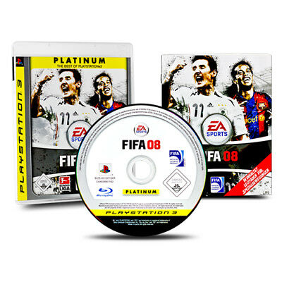 PS3 - PlayStation 3 Spiel FIFA 08 - FIFA 2008 - Fußball in OVP mit Anleitung