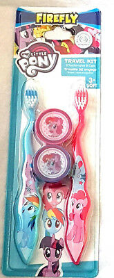 Kids My Little Pony  Twin Pk Manual Toothbrushes  3 Yrs + New Free P+P
