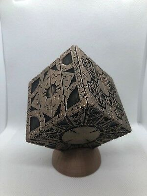 PAINTED Hellraiser Inspired PLA Puzzle Box Lament Configuration (Black + Bronze)