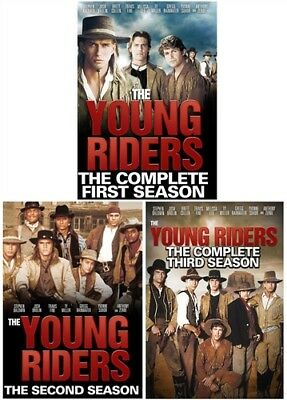 THE YOUNG RIDERS THE SERIES New 14 DVD Set 64 Episodes Seasons 1-3 Season 1 2 3