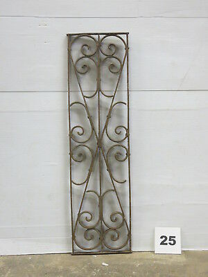 Antique Egyptian Architectural Wrought Iron Panel Grate (E-25)
