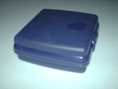 Tupperware Square Sandwich Keeper ~ PURPLE ~ #3752