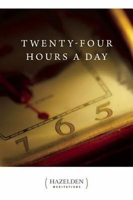 Twenty-Four Hours A Day (Reprint Edition), Anonymous, Good Condition, Book