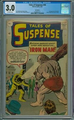 Tales Of Suspense #40 - CGC Graded 3.0 - 2nd Appearance Of Iron Man