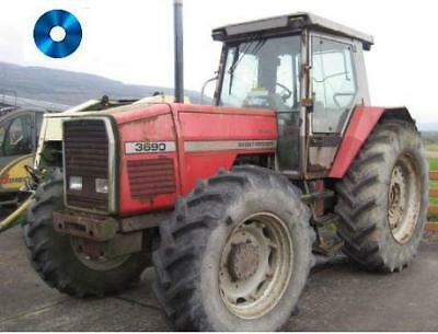 Massey Ferguson 3690 Dealers Parts Manual Printed and Digital