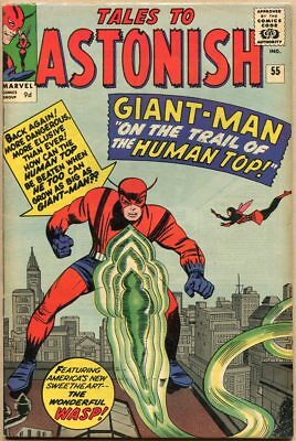 Tales To Astonish #55 - FN+