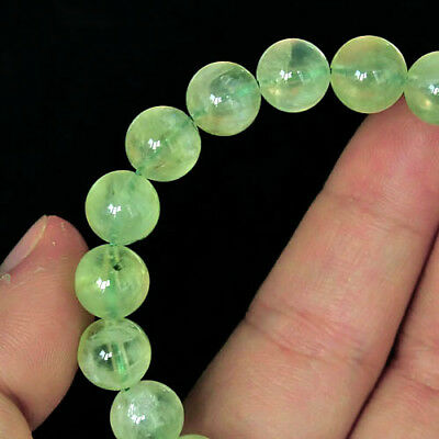 121.8Ct 100% Natural Green Prehnite Bracelet  CPG291