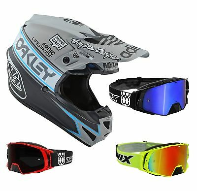 Troy Lee Designs Se4 équipe édition Wolfsburg 2 Casque Cross Gris