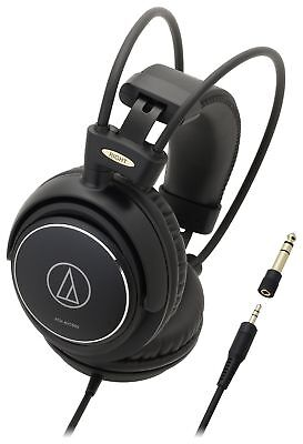 Audio Technica ATH-AVC500 Over-Ear Wired Headphones - Black.