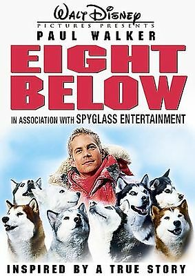 Eight Below (Wide Screen Edition) Walt Disney Paul Walker FREE SHIPPING