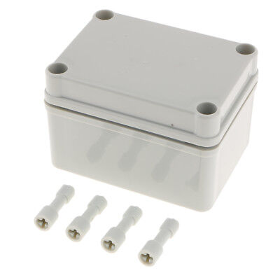 1Pcs - Enclosure Cable Junction Box Adaptable ABS Plastic Outdoor Waterproof