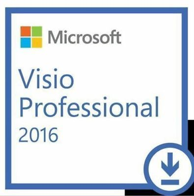 Microsoft Visio 2016 Professional for PC Online 100% Genuine