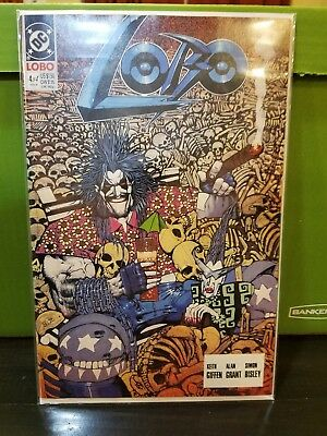 Lobo #4 (Feb 1991, DC) #4 NM