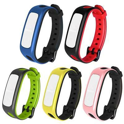 Replacement Silicone Watch Band Wristband For Huawei Honor 4 Running Version