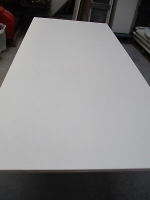 "Rectangle Large (6Ft 6"") White Office/home Table Solid & Heavy Collect Blackpool"
