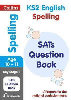 KS2 Spelling SATs Question Book 2019 Tests by Collins KS2 9780008201616