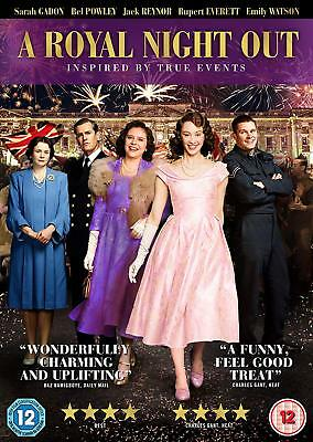 A Royal Night Out [DVD] [2015] New Sealed UK Region 2 - Sarah Gadon