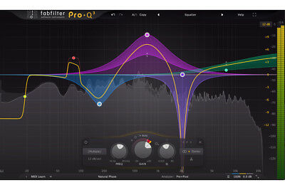 FabFilter Pro-Q 3 upgrade from Pro Q2 or Pro Q1, equalizer
