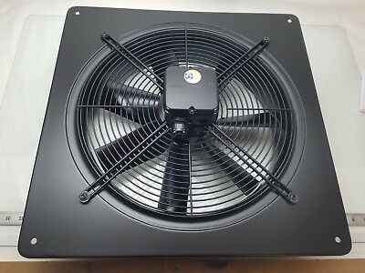 ZIEHL-ABEGG FC040-4DQ.2F.A7 Axial Fan 230/460VAC 50/60Hz (NEW In Factory Box)