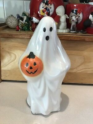 "Halloween Tree Light Topper Ghost Blow Mold 1995 Empire 10"" Tall New sealed"