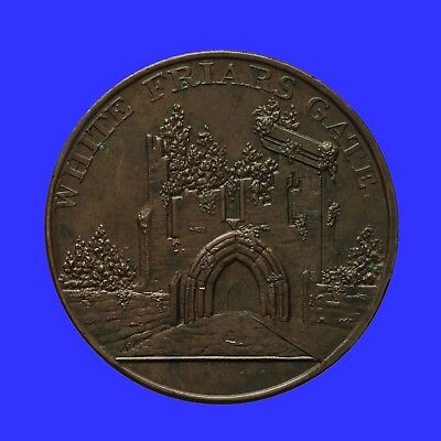 Warwickshire Coventry Kempson's halfpenny token 1797  White Friars Gate  D&H 280