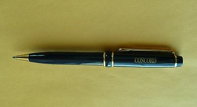 Concord Watch Company Enameled Boll Point Pen One of a Kind!