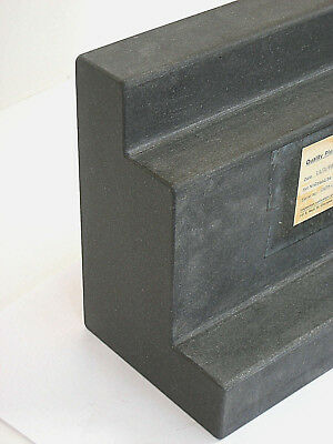 "Large Black Granite Double step Precision Angle Block 12""w x 9""h x 6-1/8'd 51Lbs"