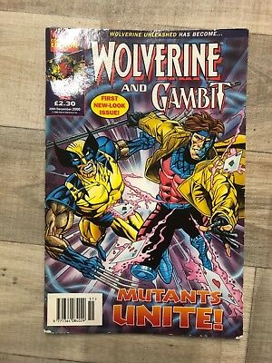 Marvel Comics Wolverine and Gambit issue 55 ( first new look issue )