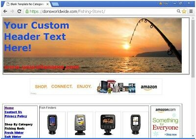 BEST FISHING BUSINESS WEBSITE STORE FOR SALE ON EBAY #7c