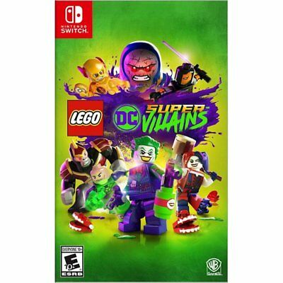 LEGO DC Super Villains Nintendo Switch Brand New! Factory Sealed!