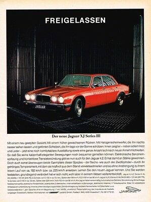 1979 Jaguar XJ Series III (German, 1pg.) Advertisement (AAC.861)