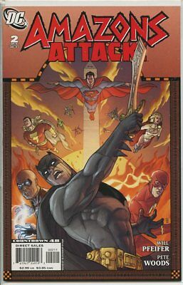 Amazons Attack 2007 series # 2 near mint comic book