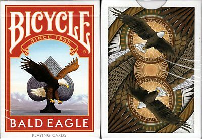 Bald Eagle Bicycle Playing Cards Poker Size Deck USPCC Custom Limited Edition