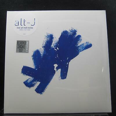 Alt-J - Live At Red Rocks 2 LP New Sealed 75678666643 RSD Blue Vinyl w/CD & DVD