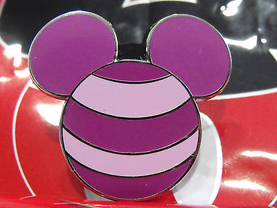 2012 Disney Mickey Mouse Ears Icon Cheshire Cat Alice Mystery Trading Pin
