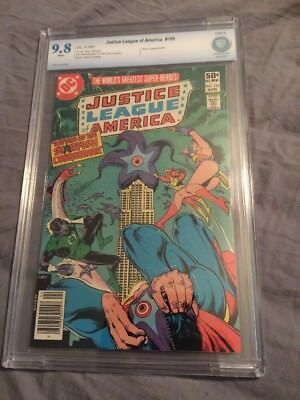 Justice League Of America 189 1981 CBCS 9.8 Like CGC 1981 Wonder Woman Superman