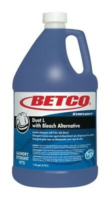 Betco Fresh Scent 1 gal High Efficiency Liquid Laundry Detergent - pack of 4