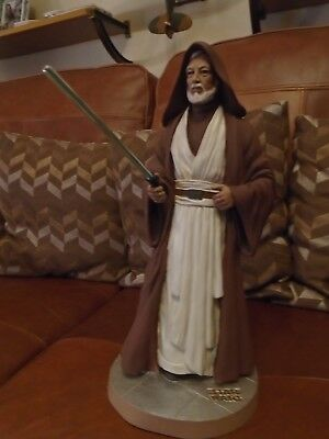 Royal Tara China Cg Publishing Star Wars Obi-Wan Kenobi Statue