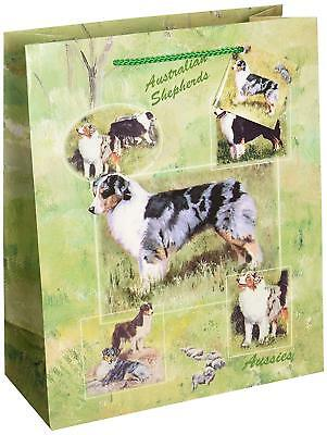 New Australian Shepherd Pet Dog Gift Bag Set of 6 Bags By Ruth Maystead