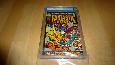 Fantastic Four 122 CGC 9.2 (1972 Marvel Comics) Silver Surfer Galactus OLD Label