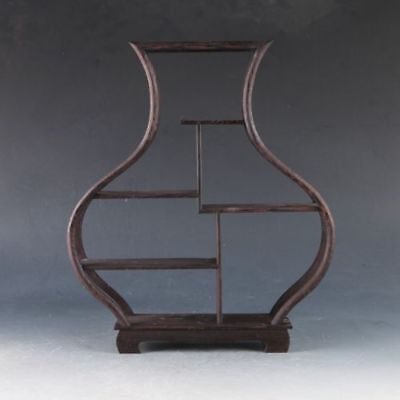 Chinese Hardwood Handmade Collection Of Antiques Shelves For snuff Bottle