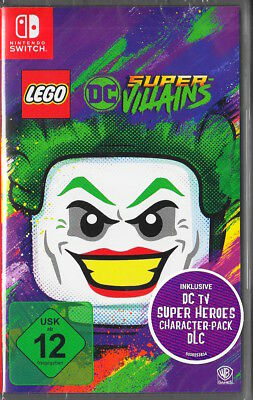 LEGO DC Super-Villains - Nintendo Switch - NEU & OVP - Deutsche USK Version