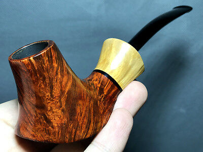 Road Town Pipe Briar wood pipe---- unsmoked