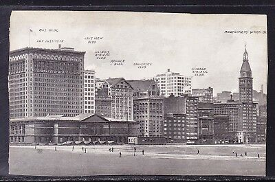 USA 1913 Picture Post Card - Municipal Park Chicago