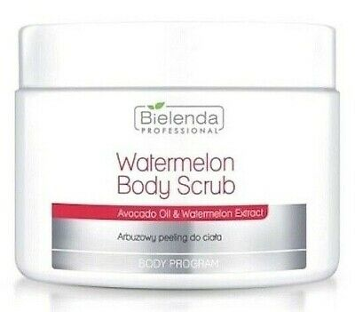 Bielenda Watermelon Body Scrub with Macadamia Oil & Watermelon Extract, 600g