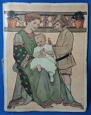 1906 Illustrated PROCTOR & GAMBLE How to Bring Up BABY Book Antique Original