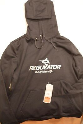 Regulator Marine Elevate Sports Hoodie - Black Medium Boat Apparel