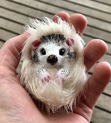 Ooak Doll, Custom Ooak,Creature, Totem Animal, Hedgehog, Teddy Bear
