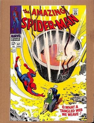 Amazing Spider-Man #61 MARVEL 1968 - HIGH GRADE - 1st Gwen Stacy cover app!
