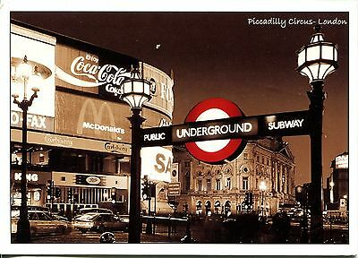 Alte Postkarte - Piccadilly Circus - London